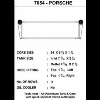 CSF Wasserkühler Set für Porsche 911 Turbo 997